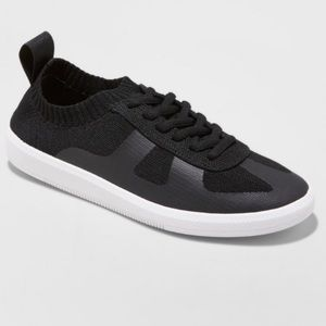 Zara Lace Up Knit Sneakers